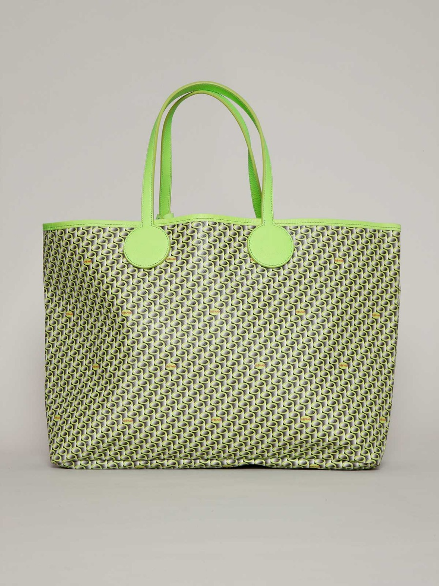 ISHIBAG LIME LARGE 30X52 CM